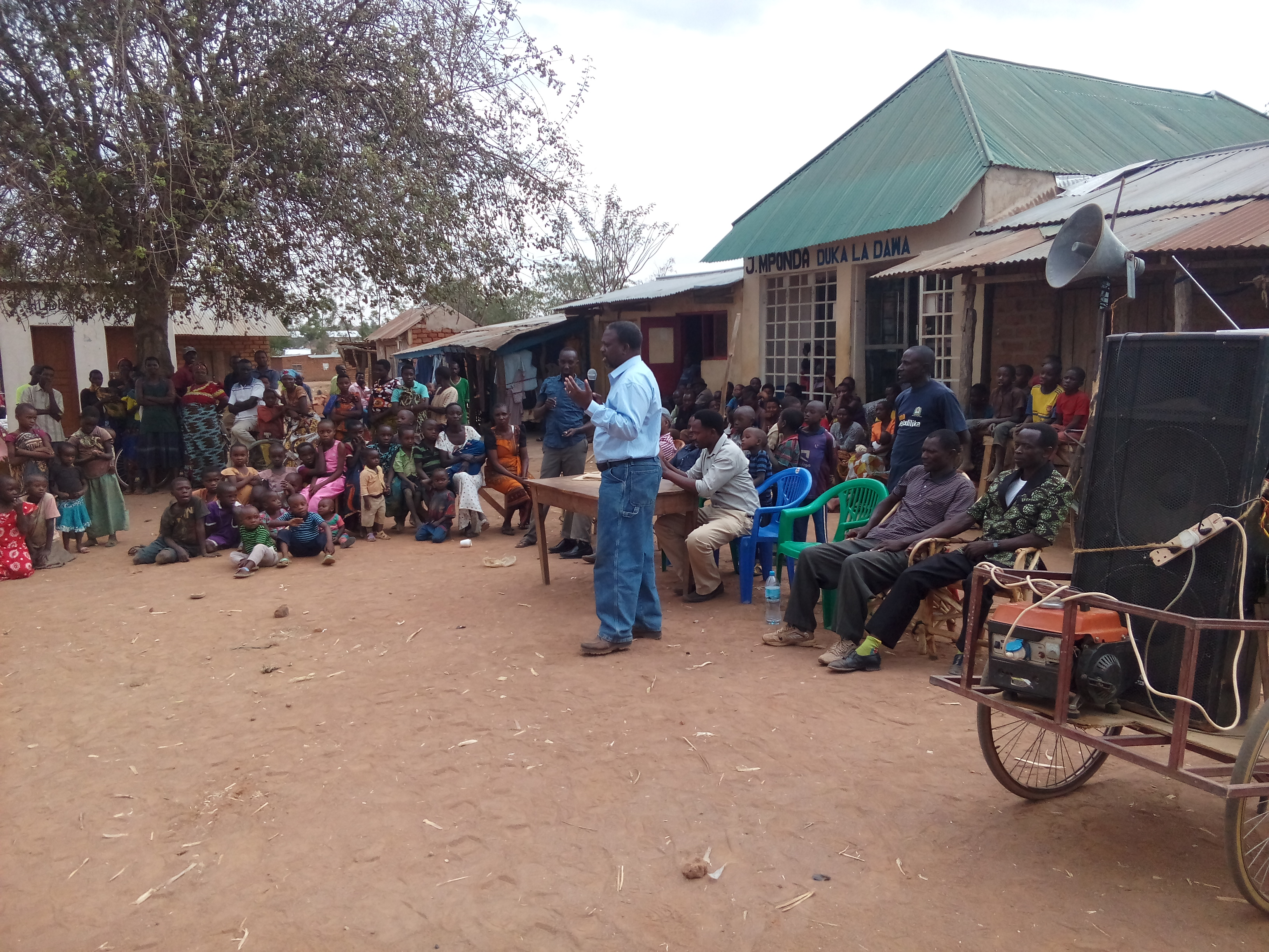 TCDC director explain issues about Malaria at Bugalama ward
